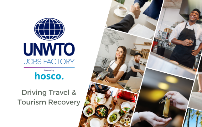 UNWTO Partners With Hosco to Launch the Jobs Factory
